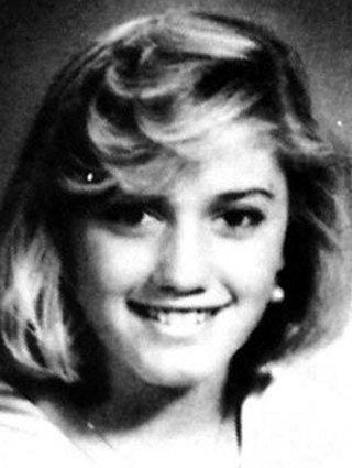 Gwen Stefani quando era criança