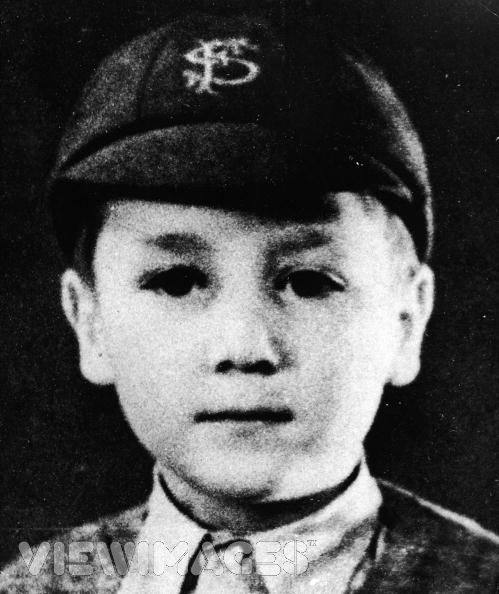 John Lennon quando era criança