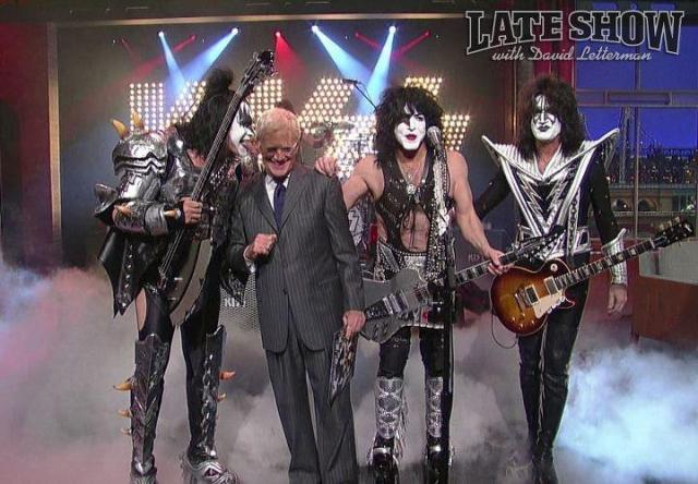 KISS no programa de David Letterman