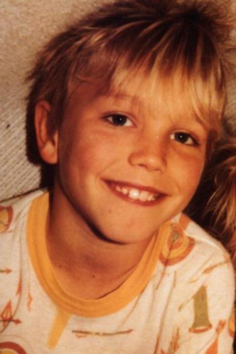 Mark Hoppus quando era criança