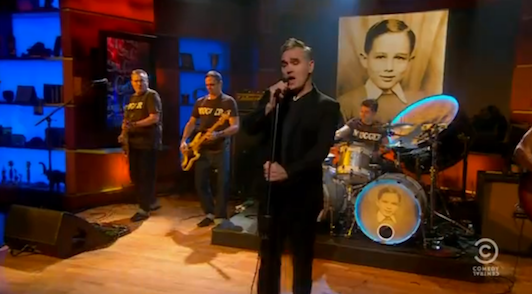 Morrissey - The Colbert Report