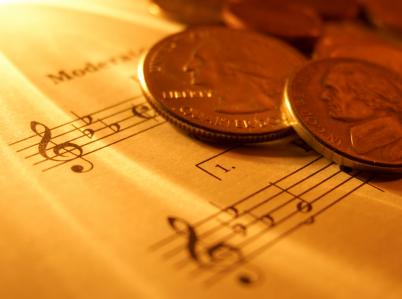 Música e dinheiro