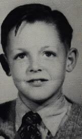 Paul McCartney quando era criança