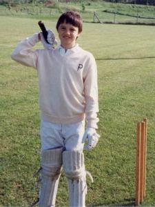 Pete Doherty quando era criança