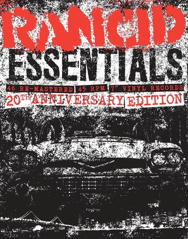 Rancid comemora 20 anos de carreira e lança caixa de couro com discografia em vinil de 7 polegadas