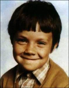 Robbie Williams quando era criança
