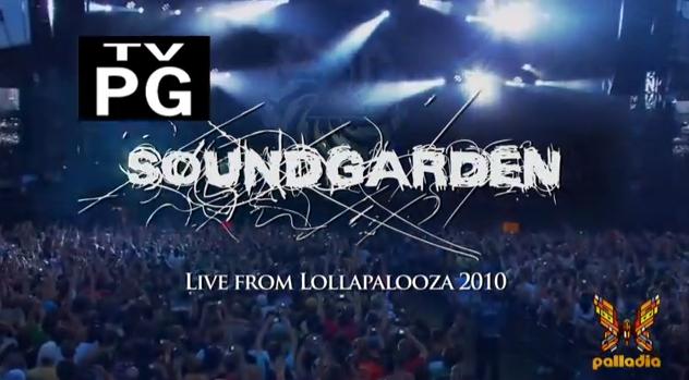 Soundgarden no Lollapalooza 2010