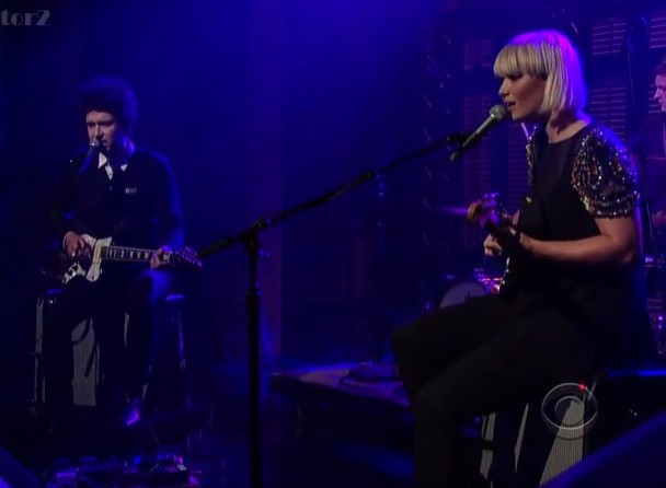 The Raveonettes no David Letterman