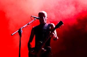 Rise Against no primeiro dia de WROS Fest