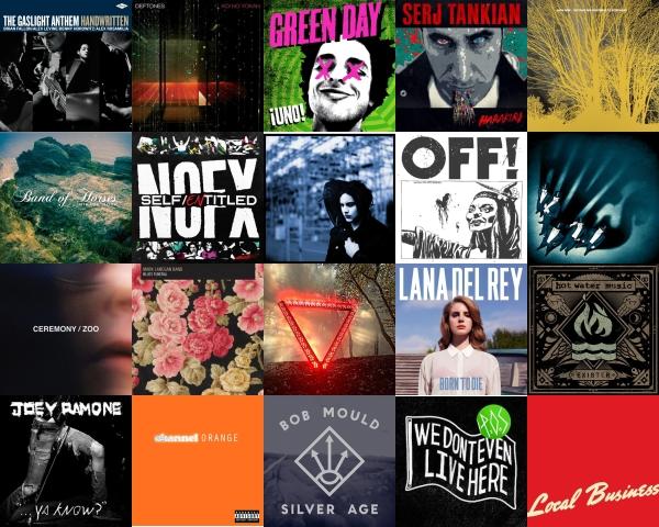 200 Discos que você deveria ter ouvido em 2012