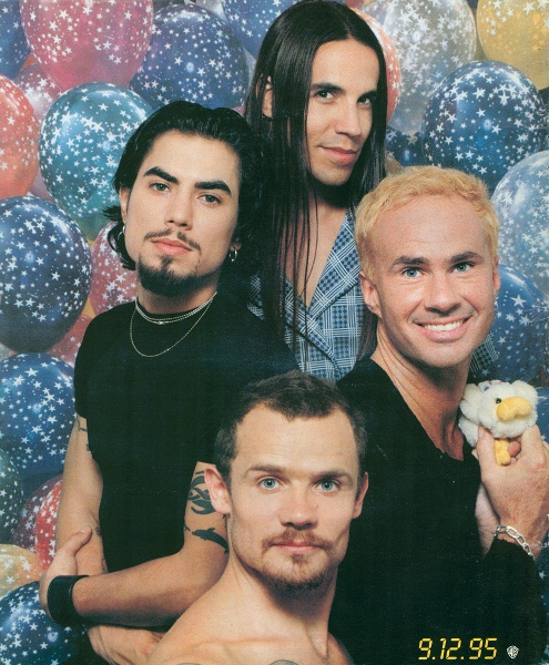 Red Hot Chili Peppers em 1995