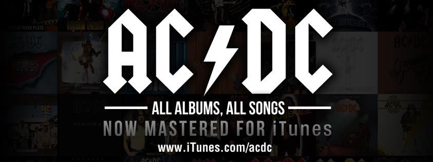 Veja detalhes da estreia do AC/DC no iTunes