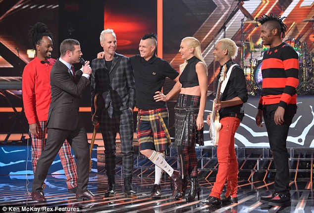 Confira a perfomance do No Doubt no The X Factor