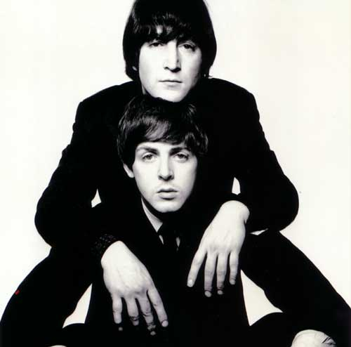 John Lennon e Paul McCartney