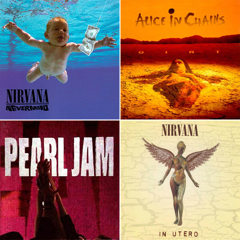 Melhores álbuns de grunge de todos os tempos