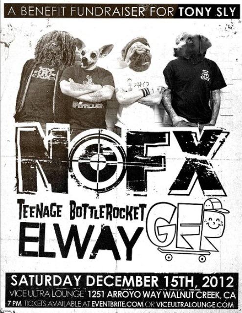 NOFX faz show em homenagem a Tony Sly