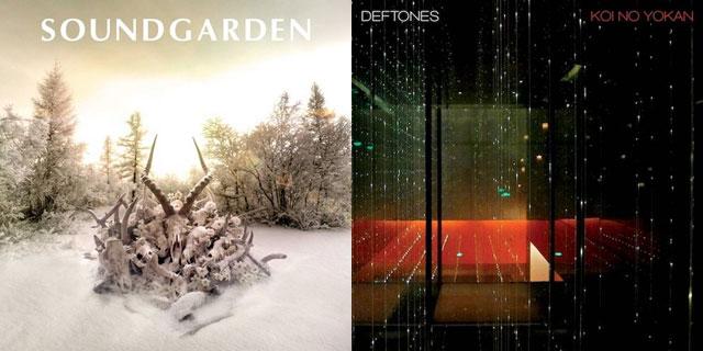Soundgarden - King Animal e Deftones - Koi No Yokan