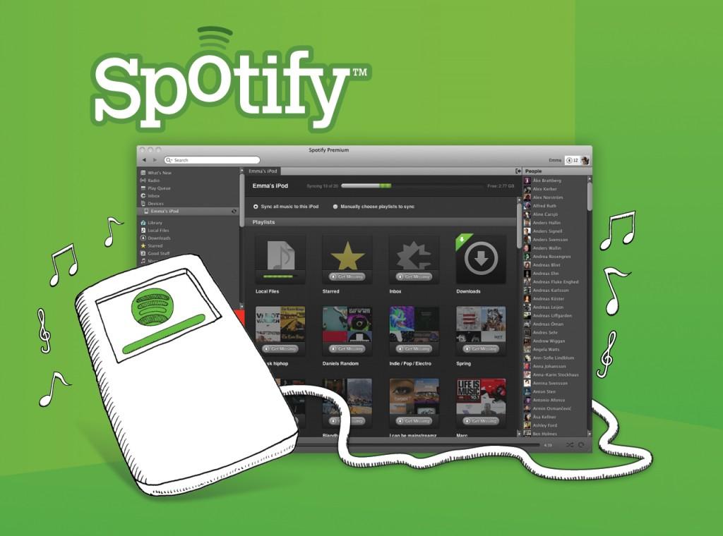Spotify prepara expansão para América Latina e Europa em 2013