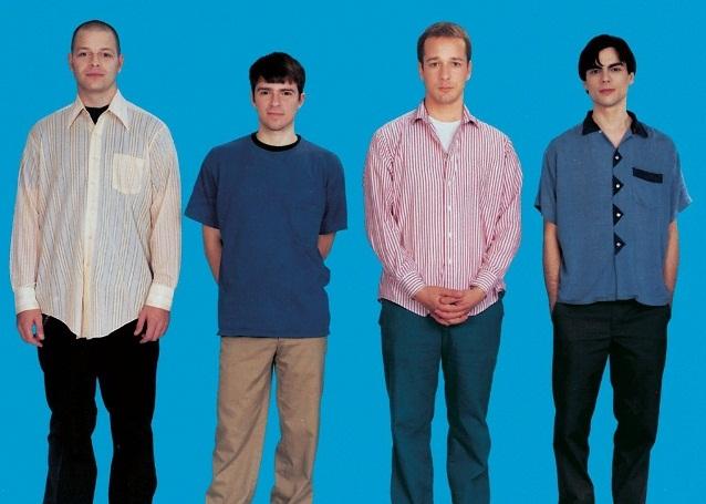 Capa do álbum homônimo de estreia do Weezer, de 1994