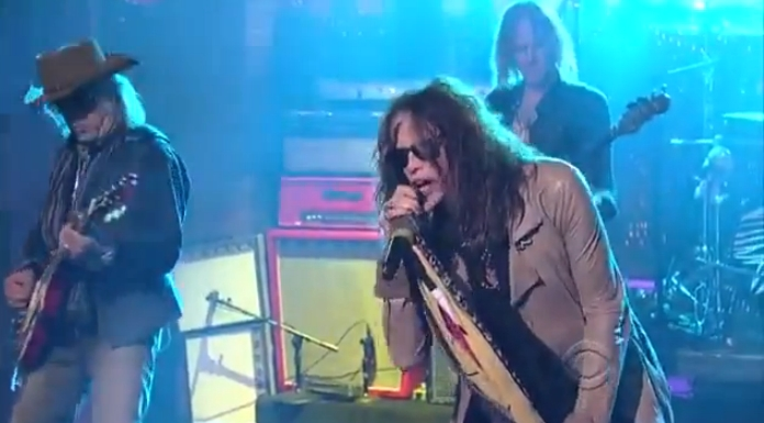 Aerosmith no David Letterman