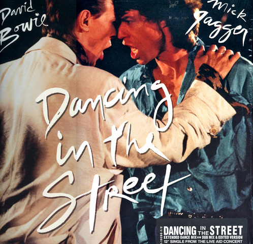 David Bowie e Mick Jagger - Dancing In The Street