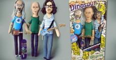 Empresa argentina cria bonecos artesanais do Dinosaur Jr.