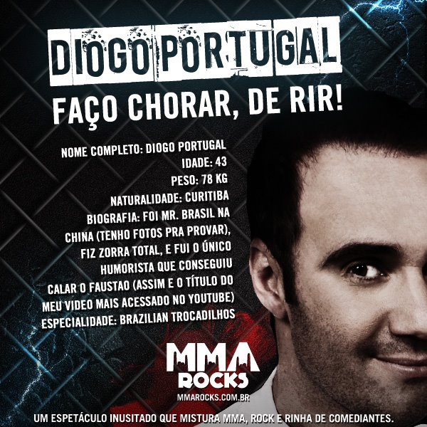Diogo Portugal no MMA Rocks