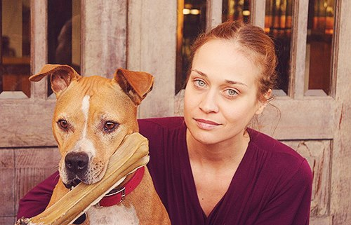 Fiona Apple e a cachorrinha