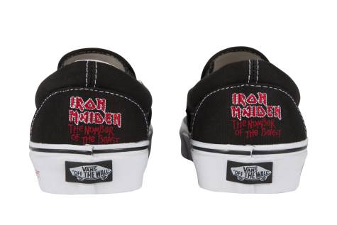"""Iron Maiden lança tênis com arte do álbum """"The Number Of The Beast"""""""