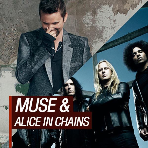 Muse e Alice In Chains no Rock In Rio