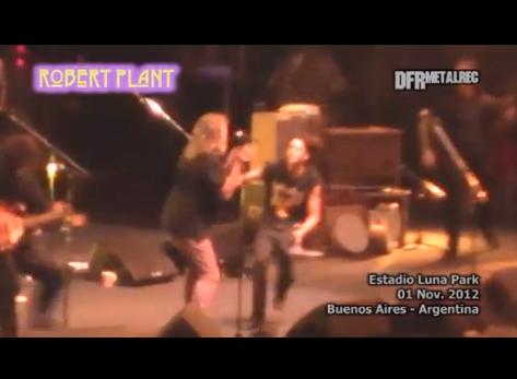 Robert Plant na Argentina