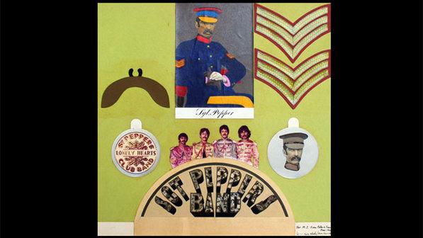 Colagem que inspirou capa de Sgt. Peppers é leiloada em Londres