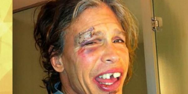 Steven Tyler leva tombo