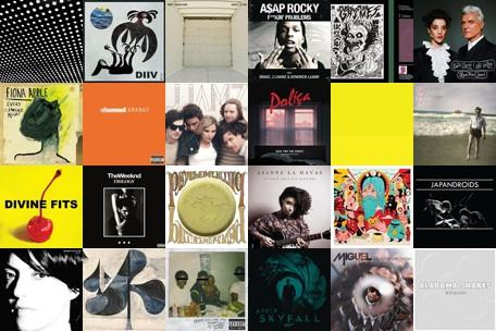 50 Melhores músicas de 2012 de acordo com a Spinner