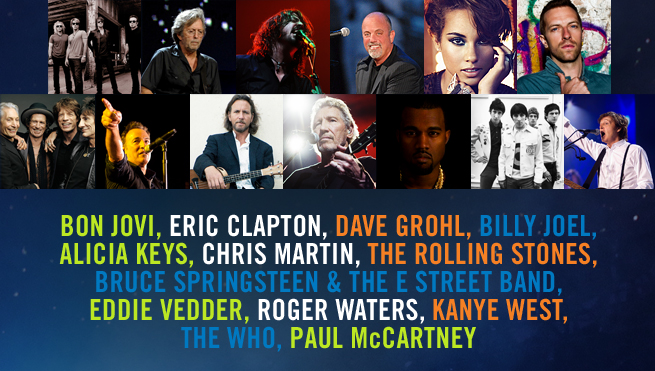 12.12.12 A Concert fo Sandy Relief