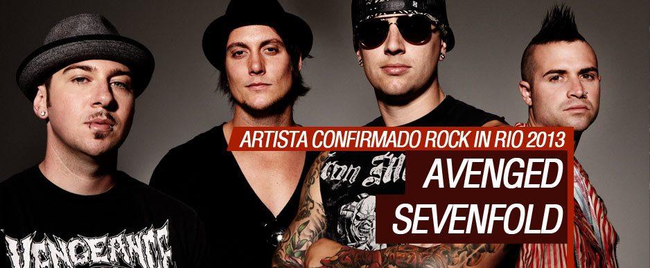 Avenged Sevenfold vai tocar no Rock in Rio 2013