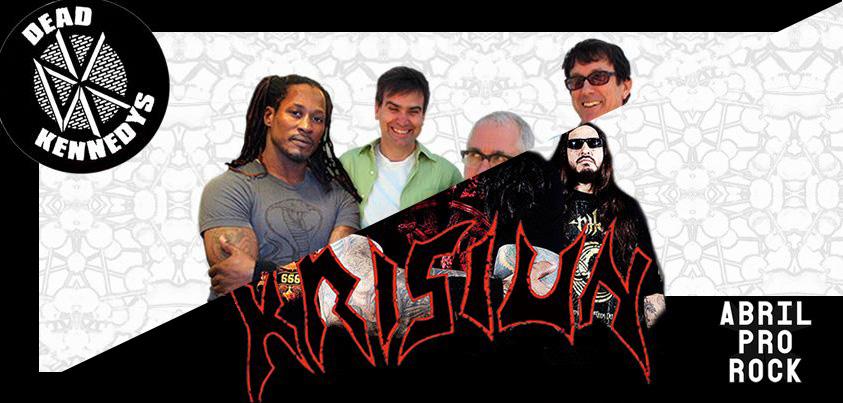 Dead Kennedys e Krisiun confirmados no Abril Pro Rock 2013