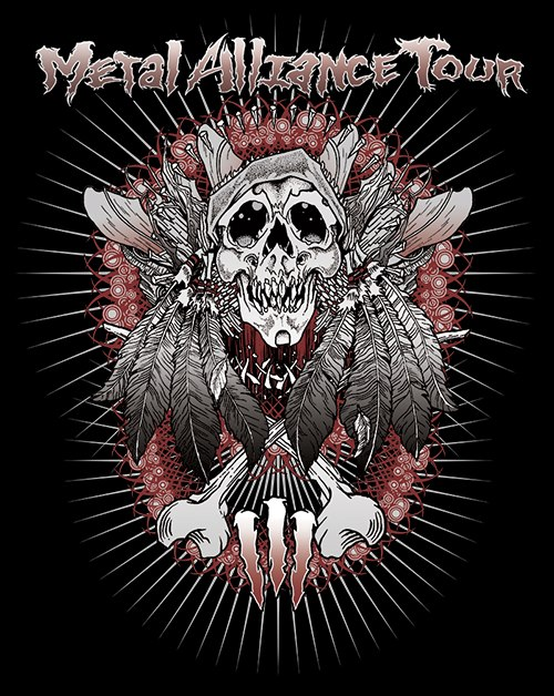 Metal Alliance Tour 2013 com Anthrax, Exodus, Municipal Waste e Holy Grail