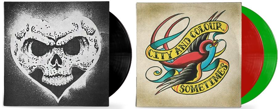 Discos de vinil de Alexisonfire e City And Colour