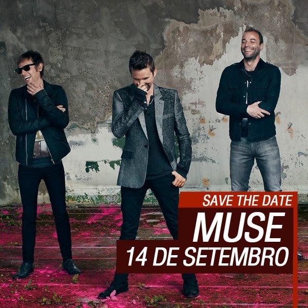 Data da apresentação do Muse no Rock in Rio 2013 é divulgada