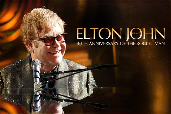 Elton John volta ao Brasil em 2013