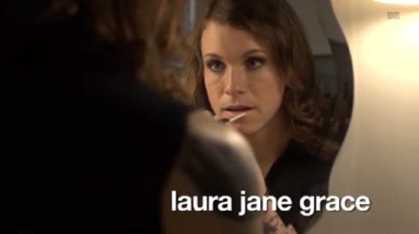 Laura Jane Grace na MTV