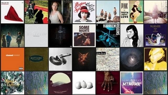 Os 50 melhores discos do ano segundo a NPR