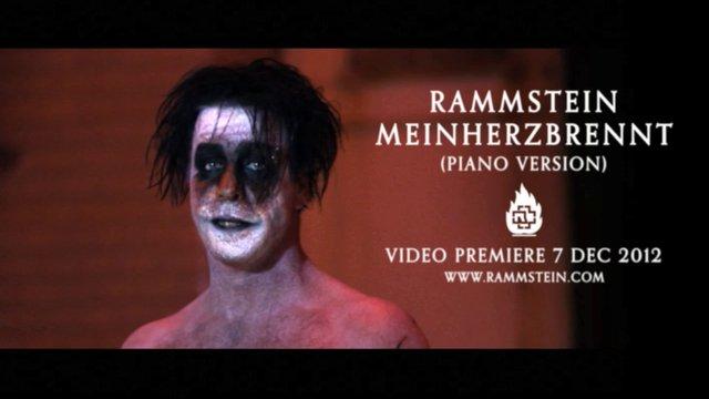 """Rammstein divulga vídeo de nova versão de """"Mein Herz Brennt"""""""
