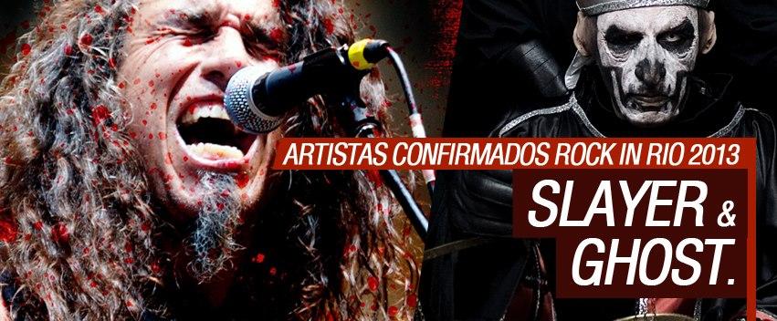 Bandas de peso confirmadas, Slayer e Ghost