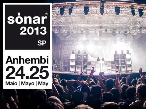 Confirmada as primeiras atrações do Sónar 2013