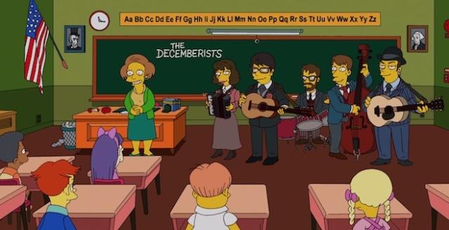 The Decemberists participa de Os Simpsons
