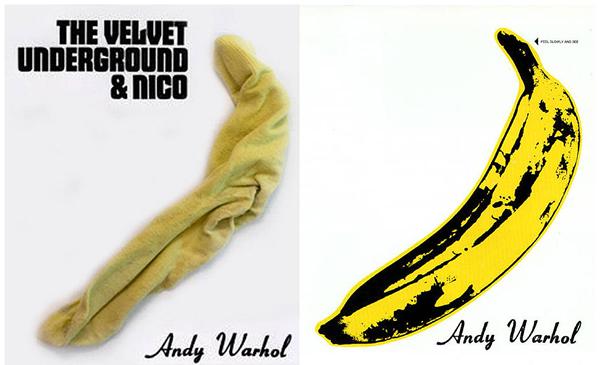 Projeto recria capa de álbuns usando meias