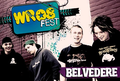 Wros Fest anuncia a primeira atração da edição 2013: Belvedere
