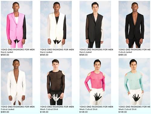 Yoko Ono - Fashions For Men